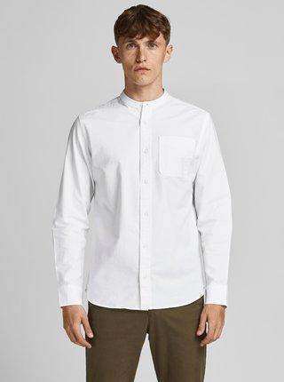 Bílá košile se stojáčkem Jack & Jones Blubrook