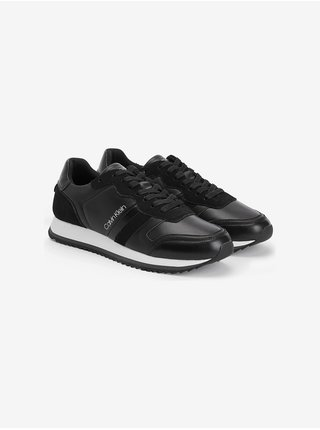 Low Top Lace Up Leather Tenisky Calvin Klein