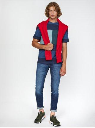 Tričká s krátkym rukávom pre mužov Tommy Hilfiger - modrá