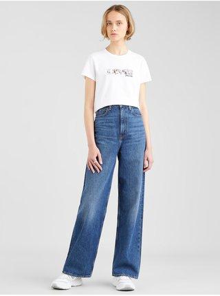 Tričká s krátkym rukávom pre ženy Levi's® - biela