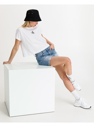 Kraťasy pre ženy Calvin Klein - modrá