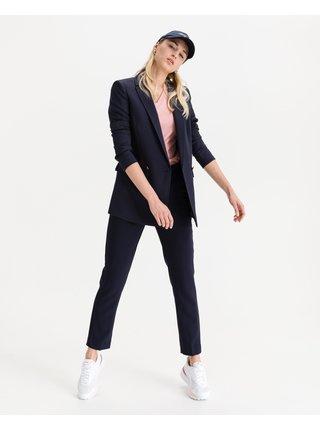Nohavice pre ženy Tommy Hilfiger - modrá