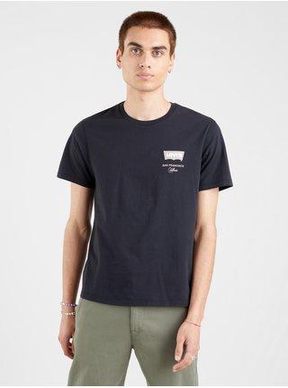 Tričká s krátkym rukávom pre mužov Levi's® - čierna, modrá