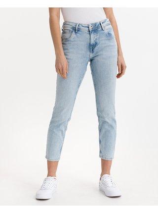 Boyfriend, Mom pre ženy Pepe Jeans - modrá