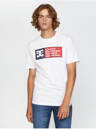 Tričká s krátkym rukávom pre mužov DC - biela