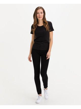 Skinny fit pre ženy Tommy Hilfiger - čierna