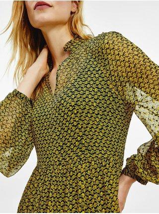Voľnočasové šaty pre ženy Tommy Hilfiger - žltá