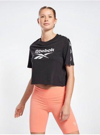 Tričká s krátkym rukávom pre ženy Reebok - čierna