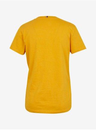 Tričká s krátkym rukávom pre ženy Tommy Hilfiger - žltá
