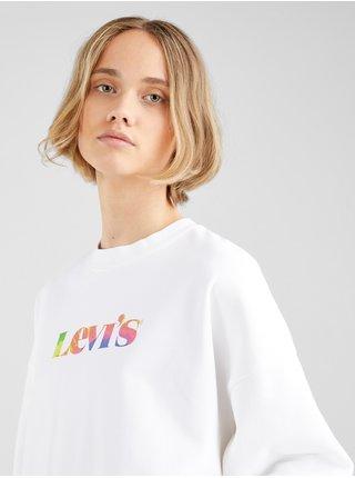 Mikiny pre ženy Levi's® - biela