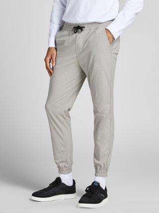 Světle šedé kalhoty Jack & Jones  Gordon