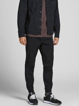 Čierne nohavice Jack & Jones Gordon