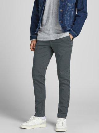 Tmavě šedé chino kalhoty Jack & Jones Marco