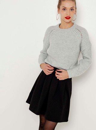 Černá puntíkovaná sukně CAMAIEU