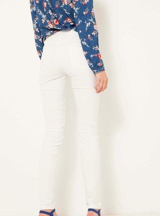 Bílé skinny fit džíny CAMAIEU
