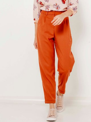 Oranžové kalhoty CAMAIEU