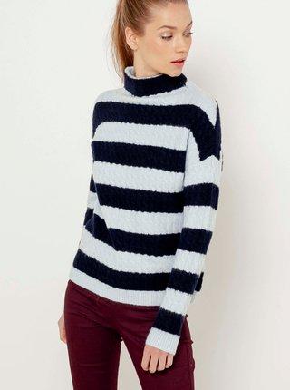 Modro-biely sveter CAMAIEU