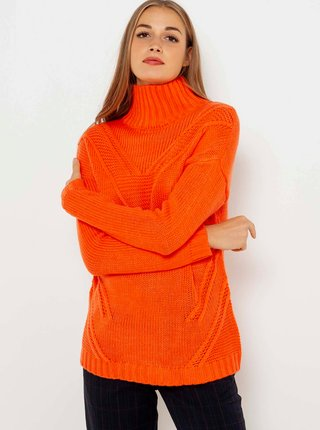 Oranžový rolák CAMAIEU