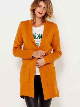 Oranžový lehký kabát CAMAIEU