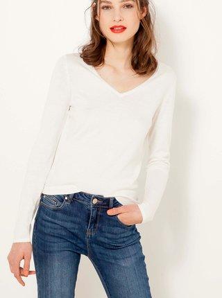 Biely ľahký sveter CAMAIEU