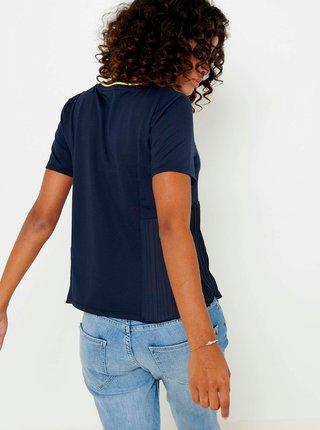 Tmavomodré tričko CAMAIEU
