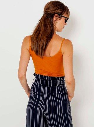 Oranžové basic tílko CAMAIEU