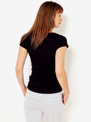 Černé basic tričko CAMAIEU