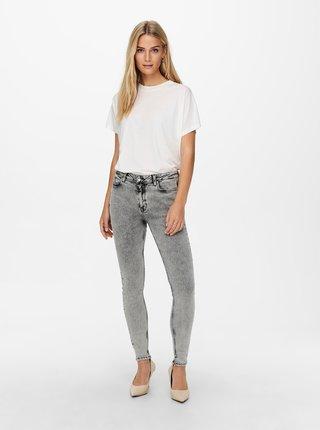 Světle šedé skinny džíny Jacqueline de Yong Fancy