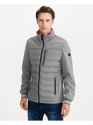 Zimné bundy pre mužov Tom Tailor - sivá