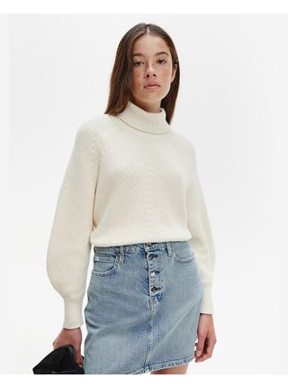 Svetre pre ženy Calvin Klein - biela