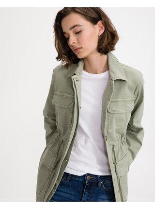 Ľahké bundy pre ženy Tom Tailor - zelená
