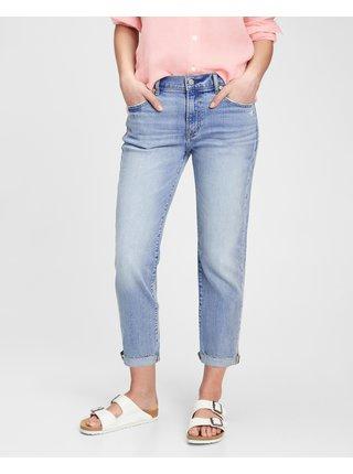 Slim fit pre ženy GAP - modrá