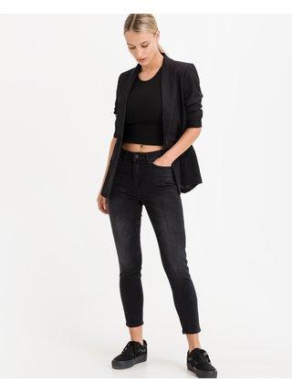 Straight fit pre ženy ICHI - čierna