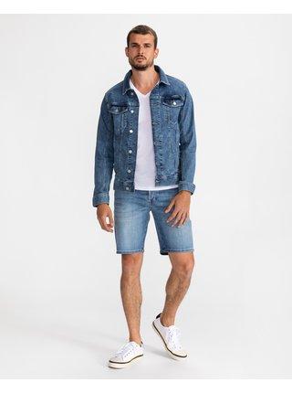Ľahké bundy pre mužov Tom Tailor - modrá