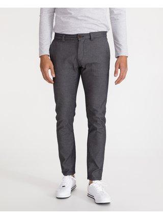 Voľnočasové nohavice pre mužov Tom Tailor - sivá