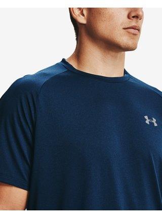 Tričká s krátkym rukávom pre mužov Under Armour - modrá