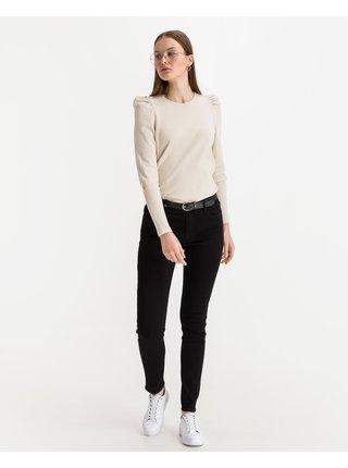 Skinny fit pre ženy Armani Exchange - čierna