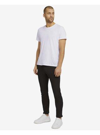 Voľnočasové nohavice pre mužov Tom Tailor - čierna
