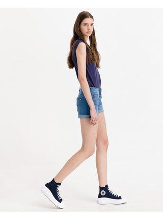 Kraťasy pre ženy Pepe Jeans - modrá