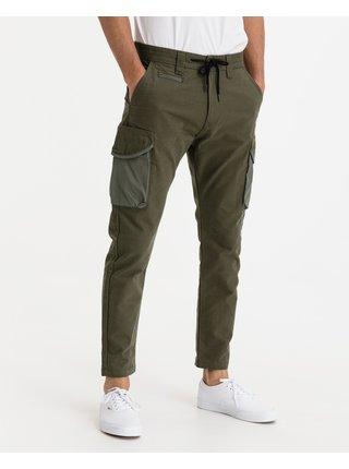Voľnočasové nohavice pre mužov Salsa Jeans - zlatá, hnedá