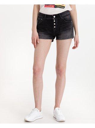 Kraťasy pre ženy Pepe Jeans - čierna