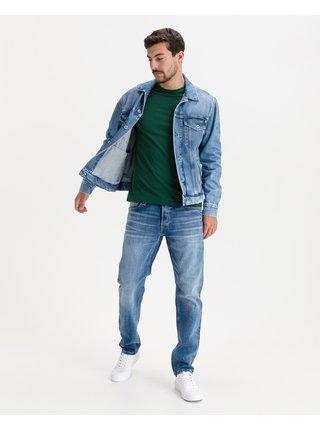 Ľahké bundy pre mužov Pepe Jeans - modrá