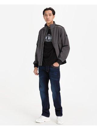 Ľahké bundy pre mužov Tom Tailor - sivá