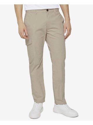 Voľnočasové nohavice pre mužov Tom Tailor - béžová