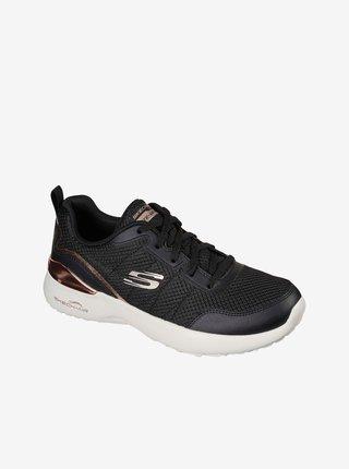 Čierna dámske tenisky Skechers