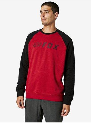 Fox Apex BLACK/RED mikiny přes hlavu pánská