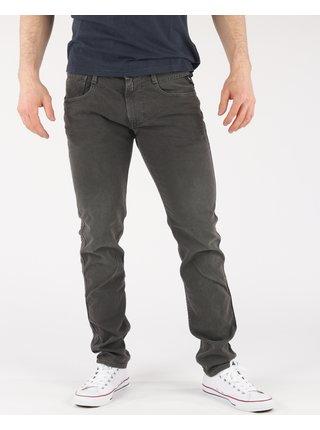 Slim fit pre mužov Replay - čierna
