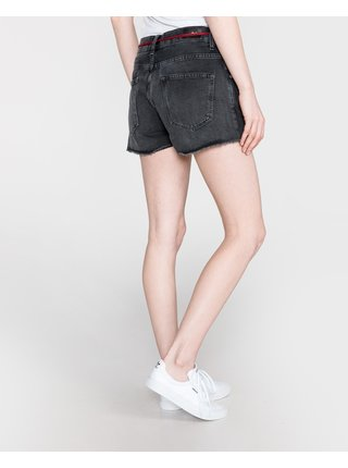 Kraťasy pre ženy Pepe Jeans - čierna, sivá