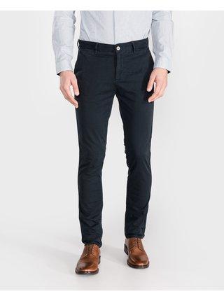 Voľnočasové nohavice pre mužov Armani Exchange - modrá