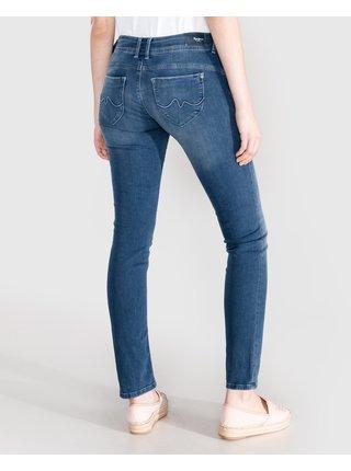 Slim fit pre ženy Pepe Jeans - modrá